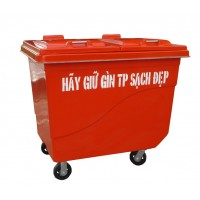 Dustbin 660 liters Botech Composite FTR010