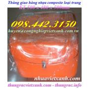 Thùng giao hàng nhựa composite loại trung