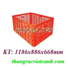 Thùng nhựa HS015