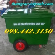 Thùng rác 1000 Lít Composite FTR1000Đ