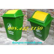 Thùng rác 60 lít nắp lật