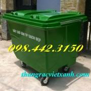 Thùng rác 660 Lít Botech Composite  FTR660