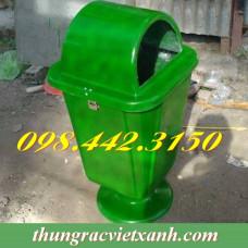 Thùng rác 55 Lít Botech Composite FTR006