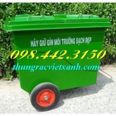 Thùng rác 660 Lít Botech Composite  FTR660Đ