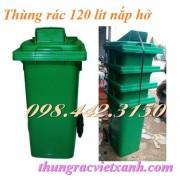 Thùng rác 120 lít nắp hở TR06