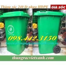 Thùng rác 240 Lít  VX240B