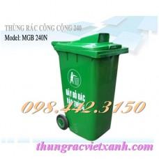 Thùng rác 240 Lít  MGB240N