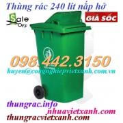 Thùng rác 240 Lít MGB240H
