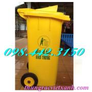 Thùng rác y tế 120 Lít nắp hở - chất thải nguy hại