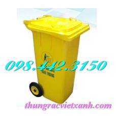 Thùng rác y tế 120 Lít nắp kín - chất thải nguy hại