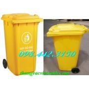 Thùng rác y tế 240 Lít VX240V - chất thải nguy hại