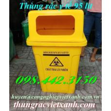 Thùng rác y tế 95 Lít - chất thải nguy hại